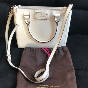 Kate Spade Satchel Bag (White)